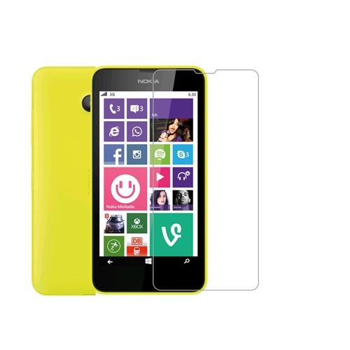 Mili Nokıa Lumia 630 Kırılmaz Cam Ekran 0.33 2.5D