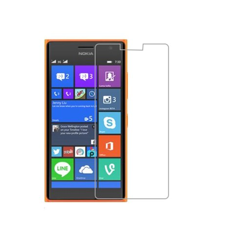 Mili Nokıa Lumia 730 Kırılmaz Cam Ekran 0.33 2.5D
