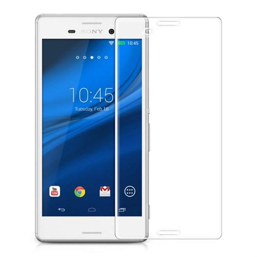 Mili Sony Xperia M5 Aqua Kırılmaz Cam Ekran 0.33 2.5D