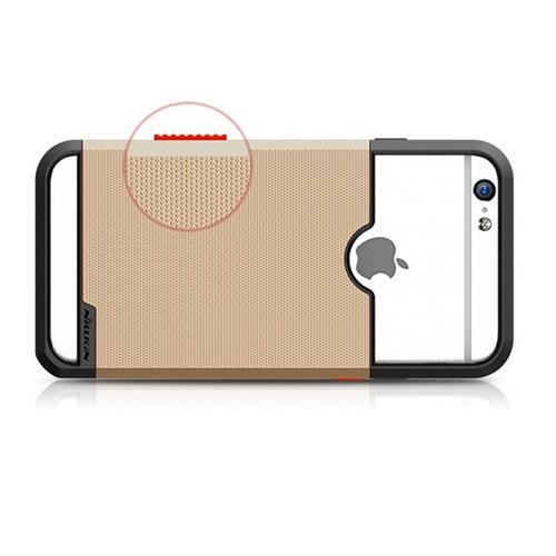 Nillkin Apple İphone 6S Kılıf Shield Show Gold