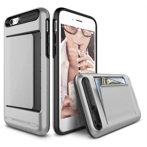 Verus İphone 6S Kılıf Damda Clip Series Light Gümüş