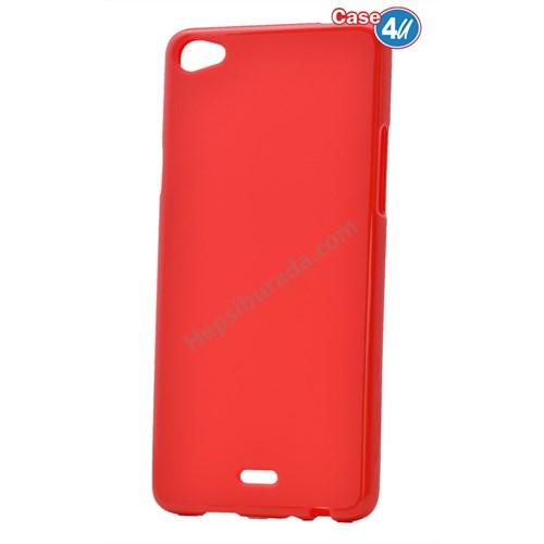 Case 4U Casper Via V10 Ultra İnce Silikon Kılıf Kırmızı