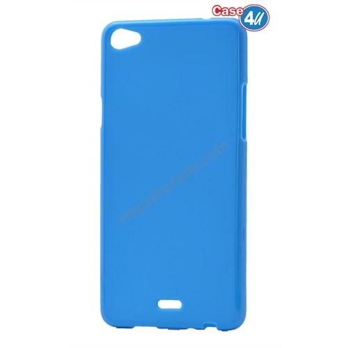 Case 4U Casper Via V10 Ultra İnce Silikon Kılıf Mavi