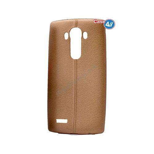 Case 4U Lg G4 Stylus Parlak Desenli Silikon Kılıf Altın