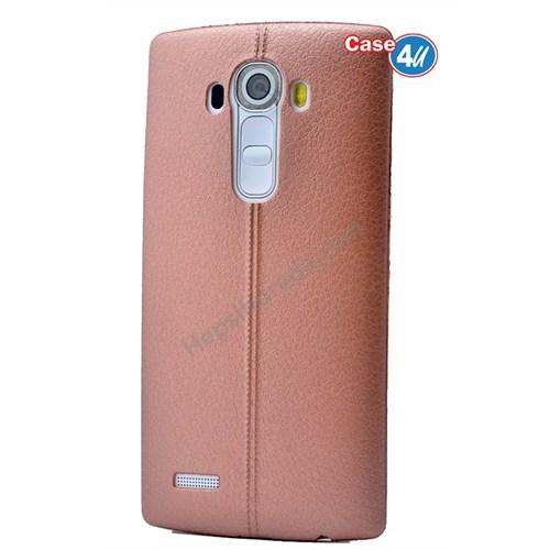 Case 4U Lg G4 Stylus Parlak Desenli Silikon Kılıf Rose Gold