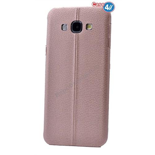 Case 4U Samsung J2 Parlak Desenli Silikon Kılıf Rose Gold