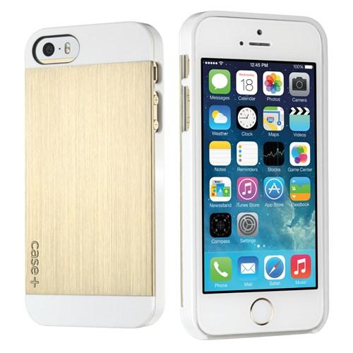 Logitech Apple iPhone 5/5S Beyaz/Gold Kılıf - 989-000131