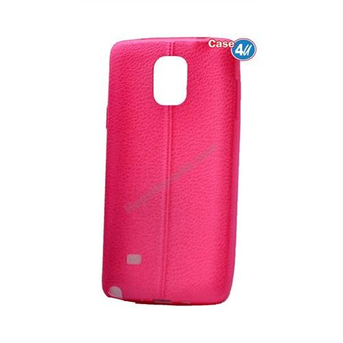 Case 4U Samsung Galaxy Note 3 Parlak Desenli Silikon Kılıf Pembe