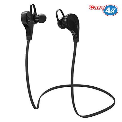 Case 4U Kablosuz Bluetooth Stereo Sporcu Kulaklık BT534 Siyah (iOS ve Android Uyumlu)