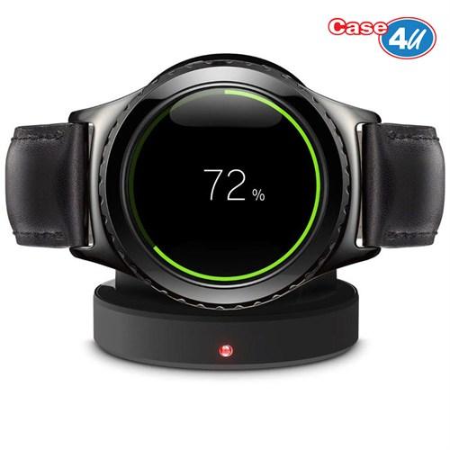 Case 4U Samsung Galaxy Gear S2 Akıllı Saat Kablosuz Şarj Cihazı