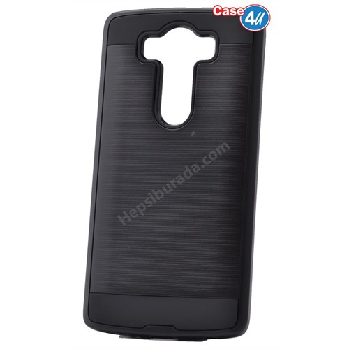 Case 4U Lg G4 Verus Korumalı Kapak Siyah