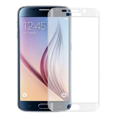 Ksp Samsung Galaxy S6 Edge Kavisli Cam Ekran Koruyucu - Şeffaf