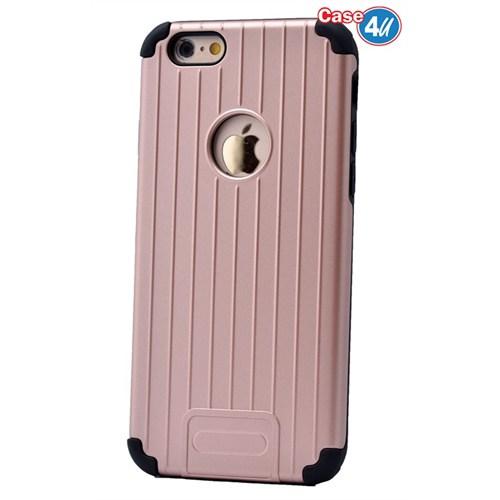 Case 4U Apple İphone 6 Plus Verse Korumalı Kapak Rose Gold