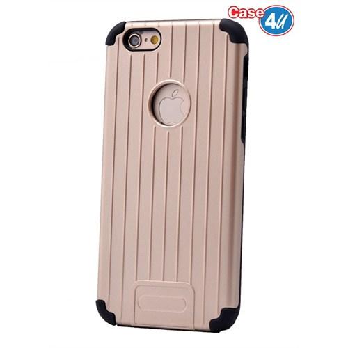 Case 4U Apple İphone 6 Plus Verse Korumalı Kapak Altın