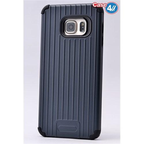 Case 4U Samsung Galaxy S6 Edge Plus Verse Korumalı Kapak Lacivert