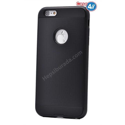 Case 4U Apple İphone 6S Plus Verus Korumalı Kapak Siyah