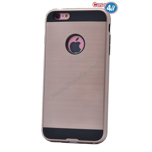 Case 4U Apple İphone 4 Verus Korumalı Kapak Rose Gold