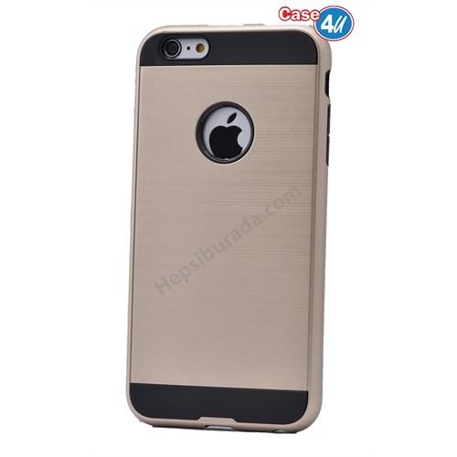 Case 4U Apple İphone 4 Verus Korumalı Kapak Altın
