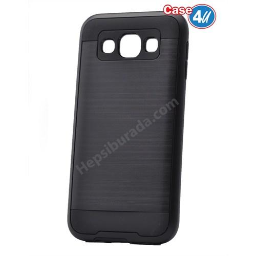 Case 4U Samsung Galaxy A8 Verus Korumalı Kapak Siyah