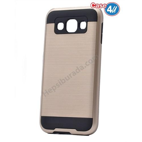 Case 4U Samsung Galaxy E7 Verus Korumalı Kapak Altın