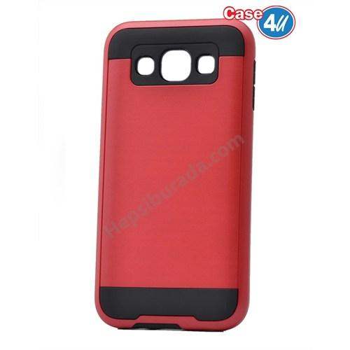 Case 4U Samsung Galaxy E7 Verus Korumalı Kapak Kırmızı