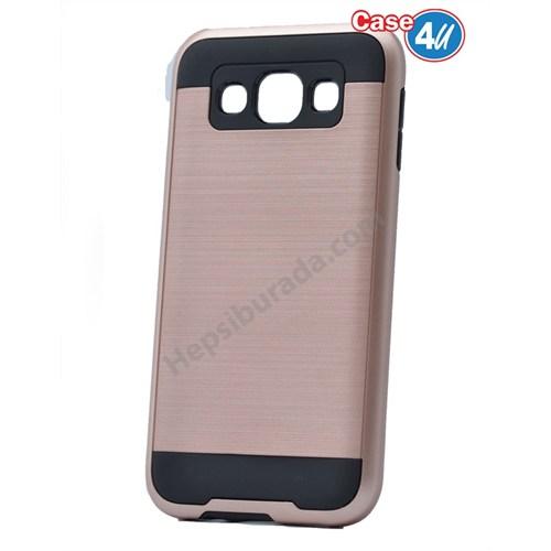Case 4U Samsung Galaxy E7 Verus Korumalı Kapak Rose Gold