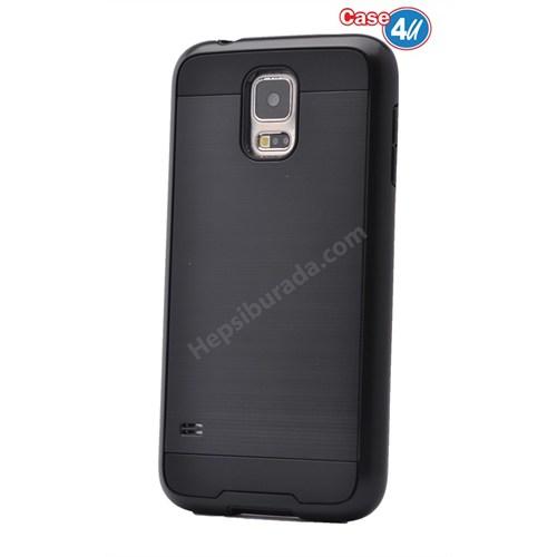 Case 4U Samsung Galaxy S5 Verus Korumalı Kapak Siyah