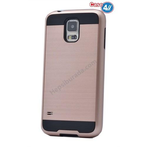 Case 4U Samsung Galaxy S5 Verus Korumalı Kapak Rose Gold