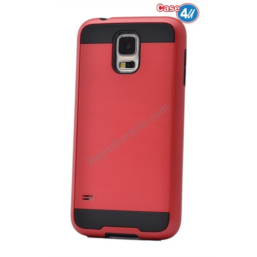 Case 4U Samsung Galaxy S5 Verus Korumalı Kapak Kırmızı