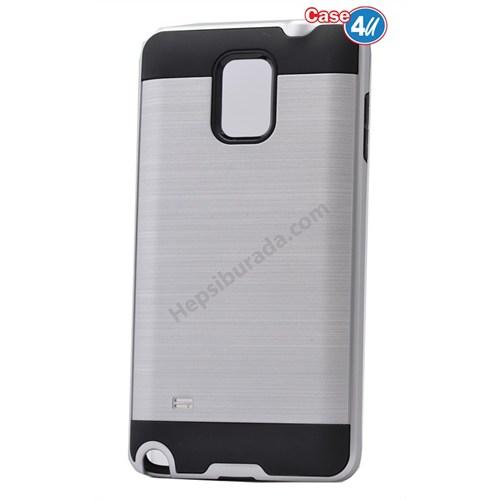 Case 4U Samsung Galaxy Note 3 Verus Korumalı Kapak Gümüş