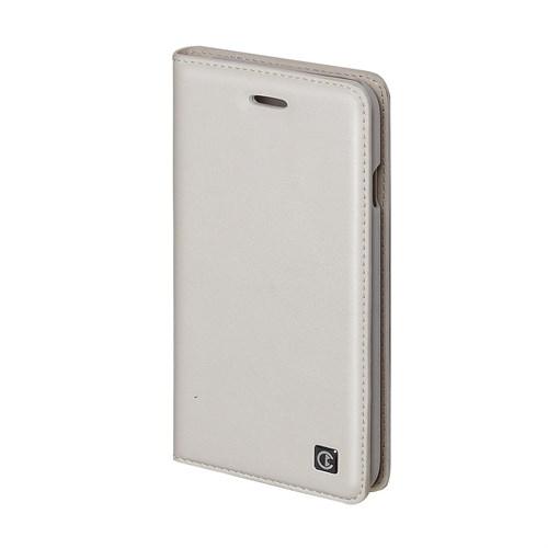 Inovaxis Apple iPhone 6 Plus Deri Cüzdan Kılıf Beyaz