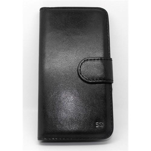 Inovaxis Iphone 5/5S Deri Cüzdan Kılıf Beyaz