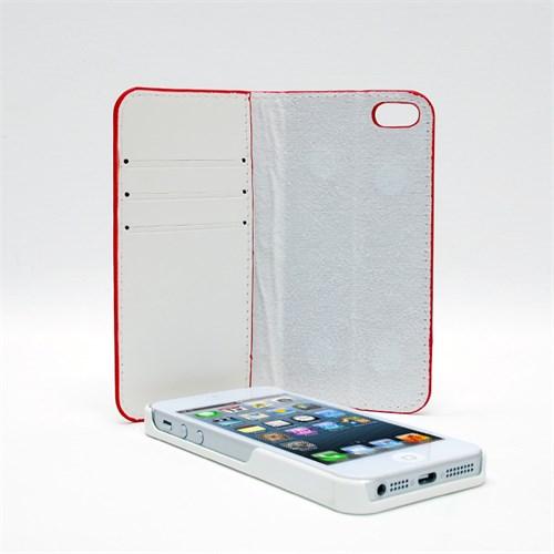 Inovaxis Apple iPhone 5/5S Mıknatıslı Kılıf Ve Kapak Beyaz