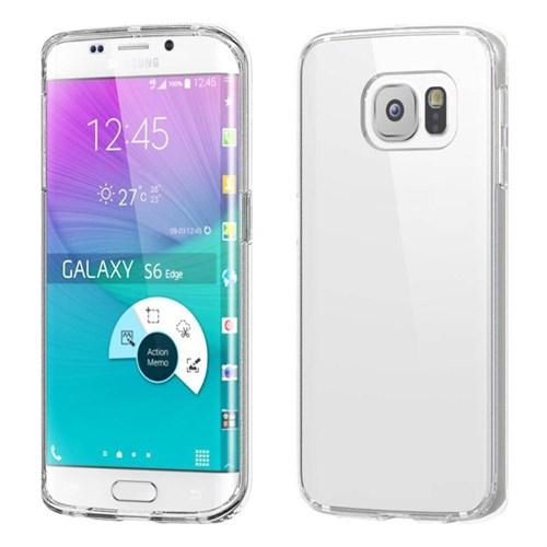 Inovaxis Samsung S6 Edge İnce Ve Koruyucu Arka Kapak Beyaz