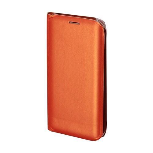 Inovaxis Samsung S6 Edge Penceresiz Flip Cover Kılıf Kapak Turuncu