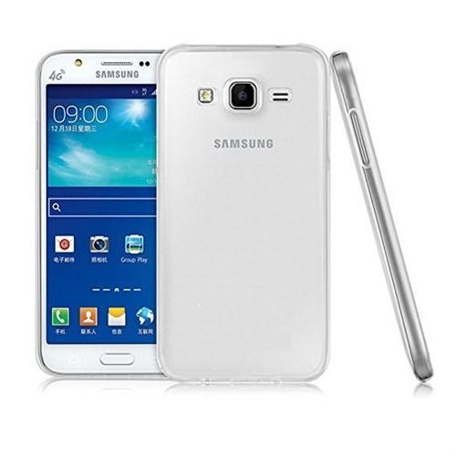 Inovaxis Samsung J2 İnce Ve Koruyucu Arka Kapak Beyaz