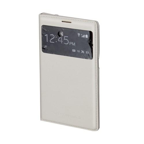 Inovaxis Samsung Mega Flip Cover Kılıf Kapak Beyaz