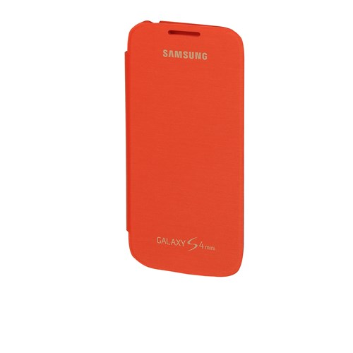 Inovaxis Samsung S4 Mini Orjinal Flip Cover Turuncu