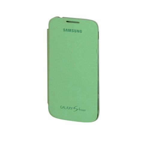 Inovaxis Samsung S4 Mini Orjinal Flip Cover Yeşil