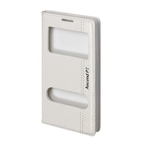 Inovaxis Huawei P 7 İnce Ve Koruyucu Magnum Kılıf Kapak Beyaz