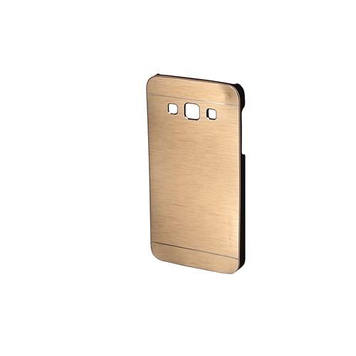 Inovaxis Samsung E7 İçin Motomo Kapak-Kılıf-Altın