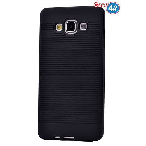 Case 4U Samsung Galaxy A8 You Korumalı Kapak Siyah