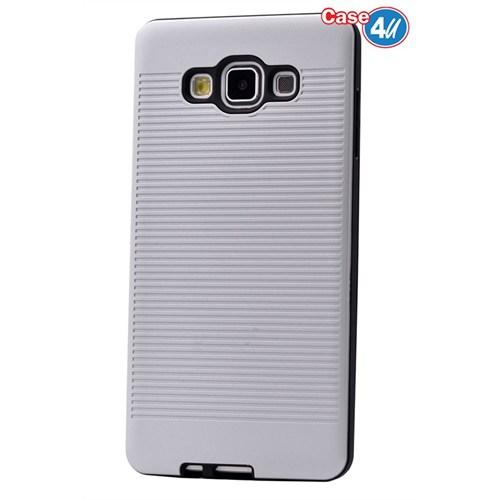 Case 4U Samsung Galaxy E5 You Korumalı Kapak Beyaz