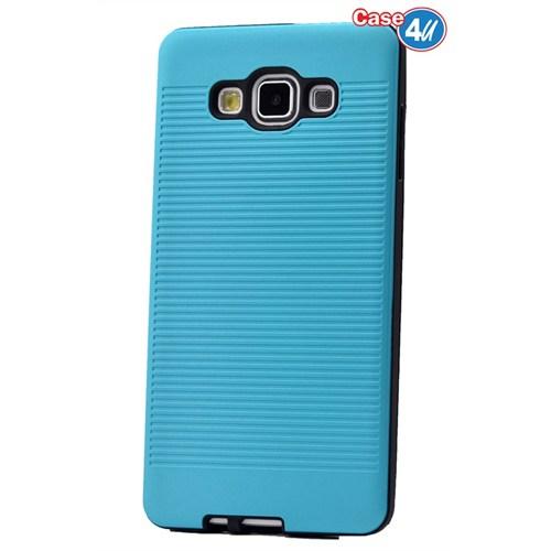 Case 4U Samsung Galaxy E5 You Korumalı Kapak Mavi