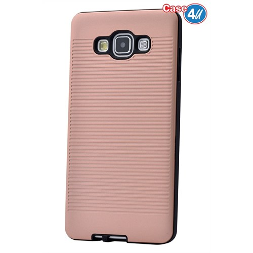 Case 4U Samsung Galaxy E5 You Korumalı Kapak Rose Gold