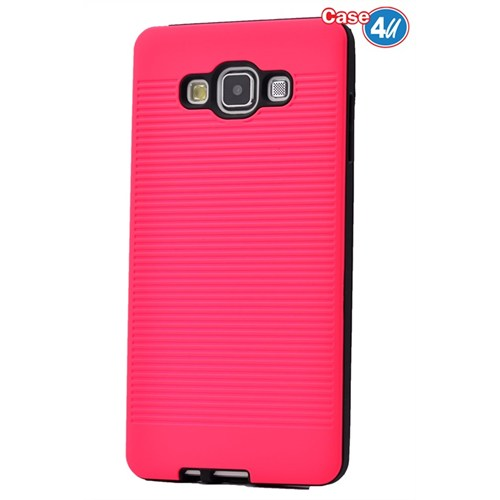 Case 4U Samsung Galaxy E7 You Korumalı Kapak Fuşya