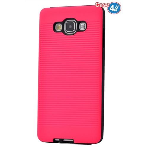Case 4U Samsung Galaxy E7 You Korumalı Kapak Fuşya