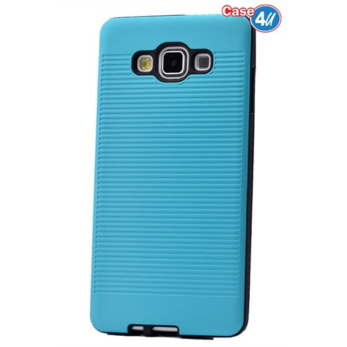 Case 4U Samsung Galaxy E7 You Korumalı Kapak Mavi
