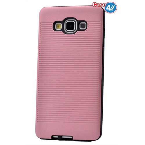Case 4U Samsung Galaxy E7 You Korumalı Kapak Pembe