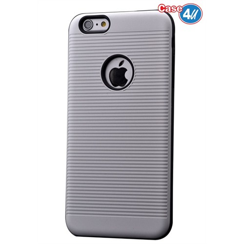 Case 4U Apple İphone 6S You Koruyucu Kapak Gri